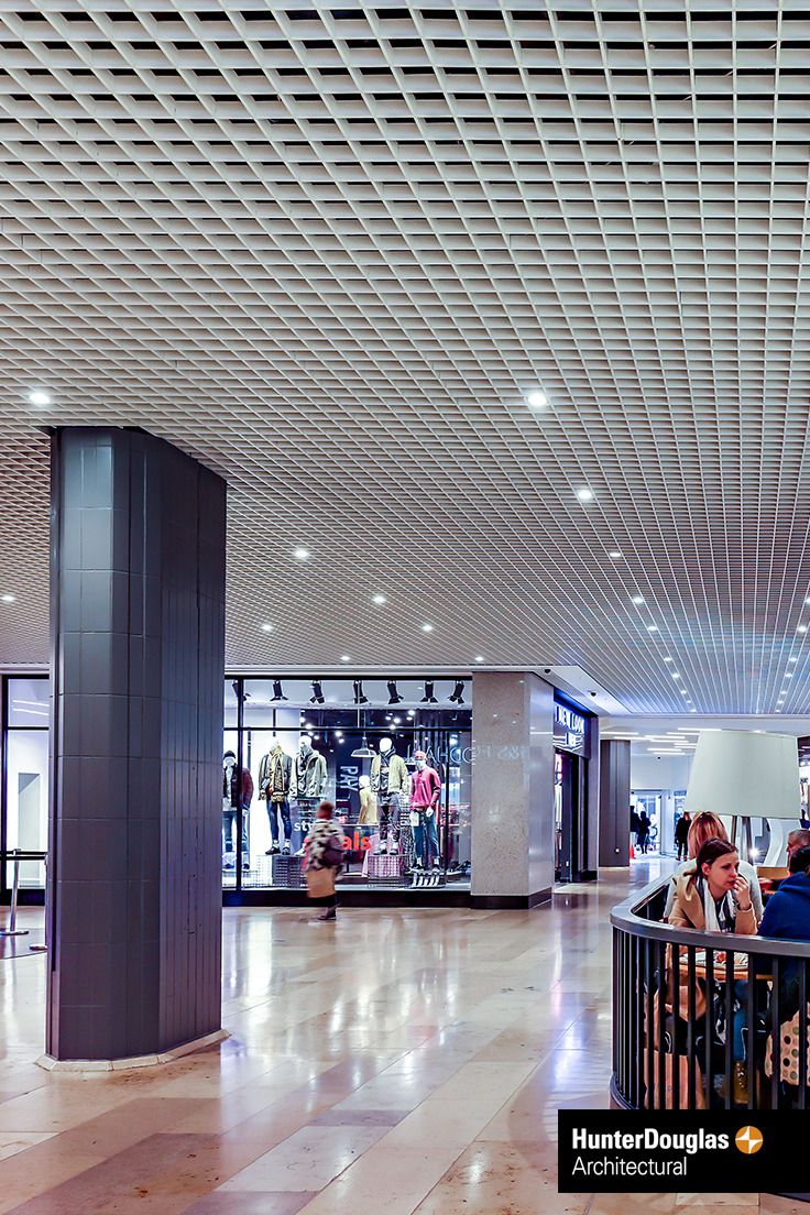 Hunter Douglas Interior Metal Open Ceilings Provide The Architect With A Variety Of Design Opportunities To Create An And Ious Feel