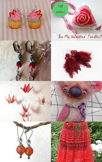 red by Olga Kolot on Etsy--Pinned with TreasuryPin.com