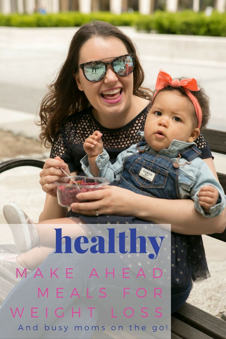 Healthy Tips: make ahead meals for weight loss and busy moms on the go! #ad #StoredBrilliantly