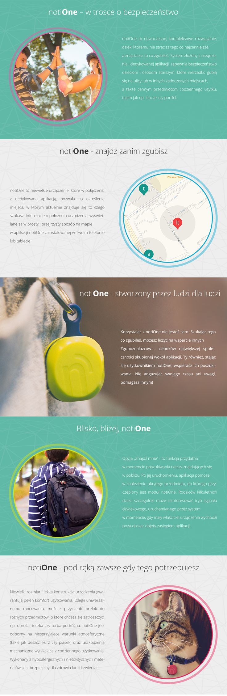 Urządzenie notiOne nto-1 limonka/granat - sklep internetowy www.sferis.pl