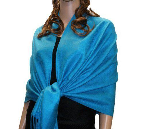 weddingstuffyouwant.unlimitedproductsolutions.com Fabulous Large Soft 100% Pashmina Paisley Scarf Shawl Wrap (75 Colors to choose) (Aqua 18) NYfashion101,http://www.amazon.com/dp/B00B6EASQK/ref=cm_sw_r_pi_dp_fzzltb1ZDGWFRGDD