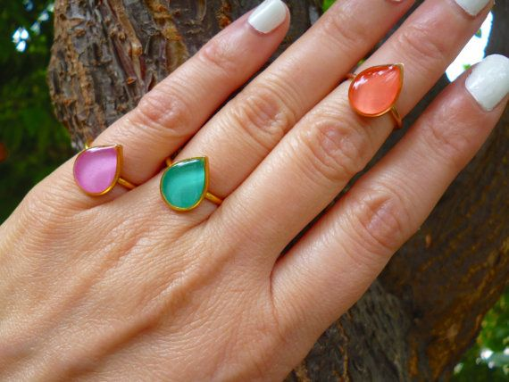 Hey, I found this really awesome Etsy listing at https://www.etsy.com/listing/269403281/teardrop-ring-adjustable-midi-ring