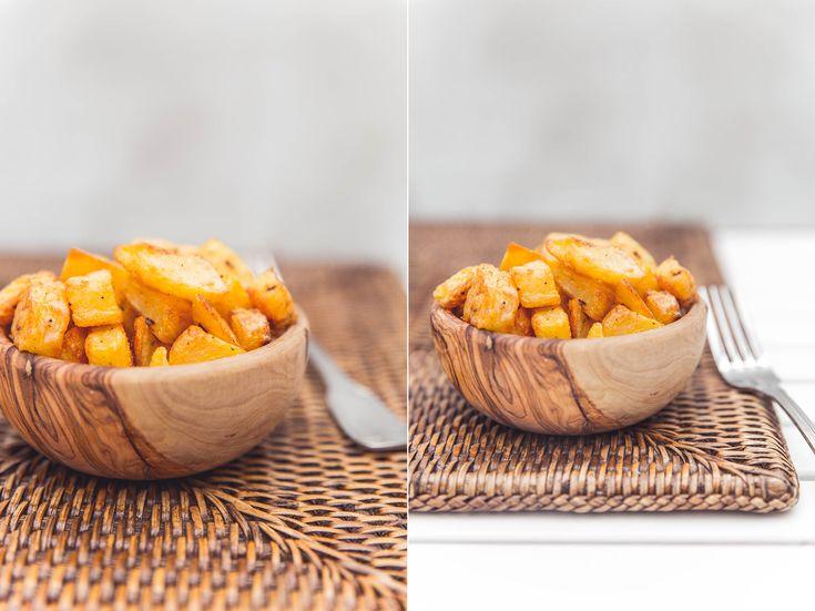 Jak na opravdu křupavé opečené brambory   Na talířek