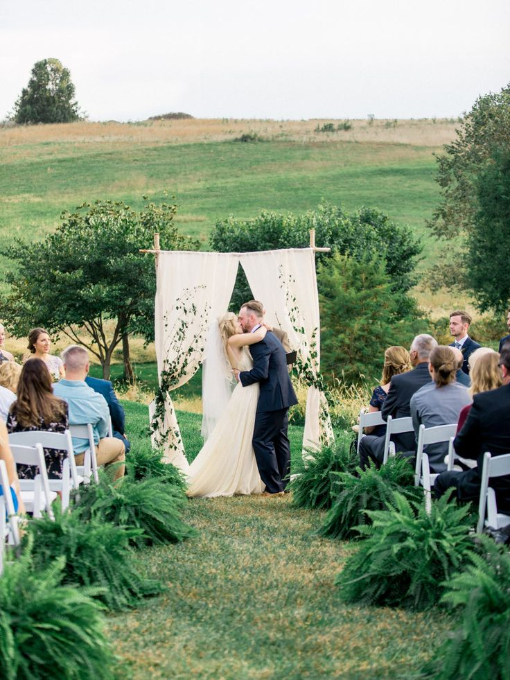 This is one of the most pinned weddings in this category.  Enjoy. Venue: Glen Ellen Farm - http://www.stylemepretty.com/portfolio/glen-ellen-farm Wedding Dress: Leanne Marshall - http://www.etsy.com/shop/Leanimal Photography: Julie Cate Photography - http://www.stylemepretty.com/portfolio/julie-cate   Read More on SMP: http://www.stylemepretty.com/2017/01/20/fall-maryland-farm-wedding/