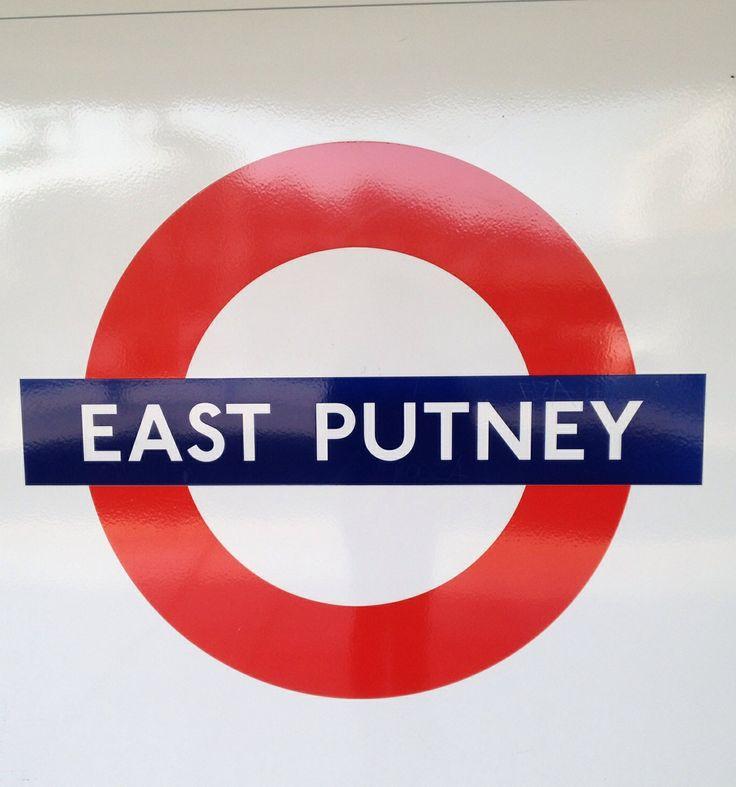 23 best underground tube stations london england images on pinterest east putney tube station march 2014 malvernweather Choice Image