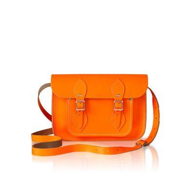 orange. bright orange.