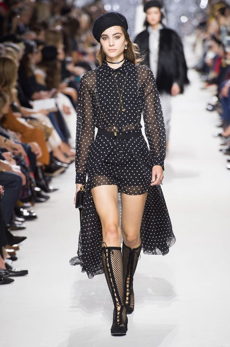 All the Looks From Christian Dior Spring Summer 2018