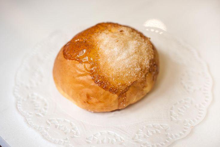 Bollo suizo (Bollo fermentado de leche y mantequilla)