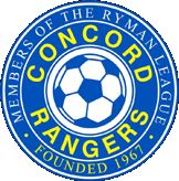 CONCORD RANGERS FC -  CANVEY ISLAND