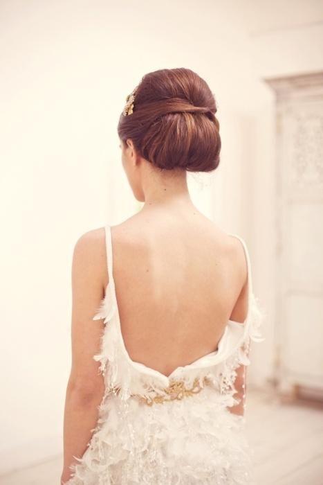 Elegant wedding hair