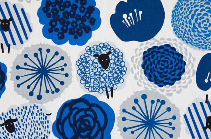 Amazon | コスモテキスタイル 北欧の森オックスプリント AP41307 約110cm巾×50cm COL.2B | 布・生地 通販}