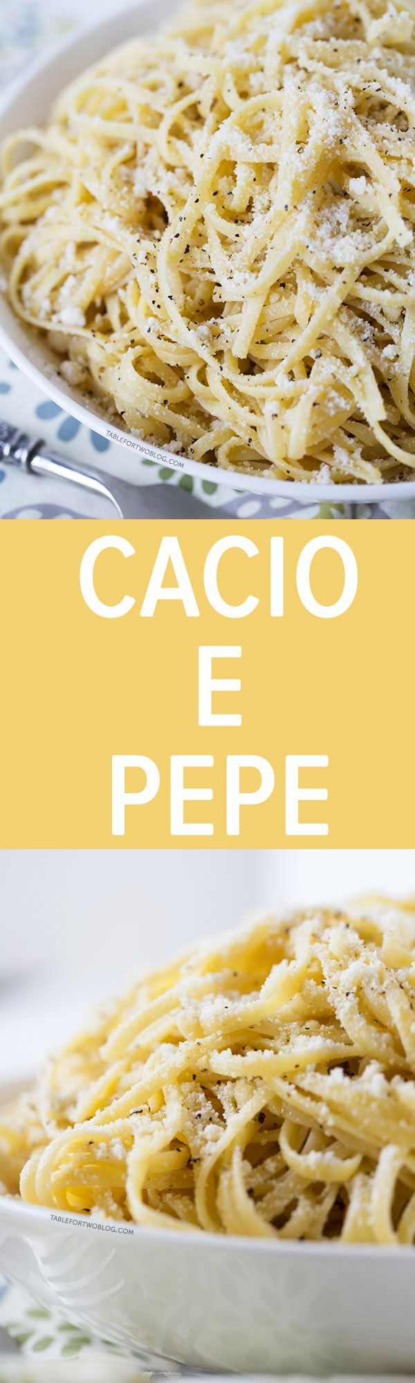 A classic Italian pasta dish with simple ingredients that will always be a crowd-pleaser. Cacio e pepe is one of our favorite pasta dishes to make!