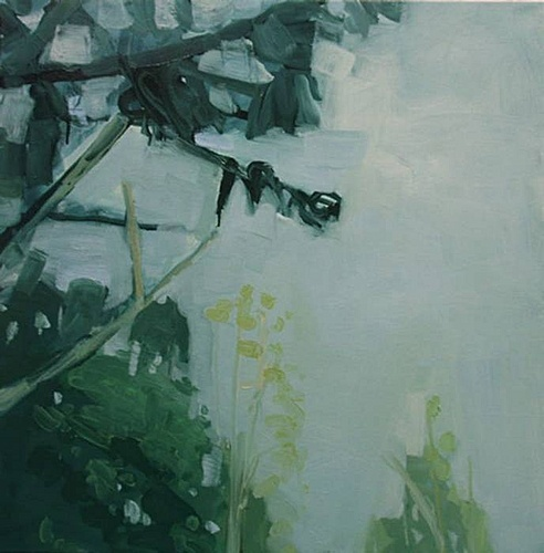 Sara MacCulloch, Trees  2008, Oil on canvas