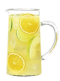 Sangria blanche, version punch
