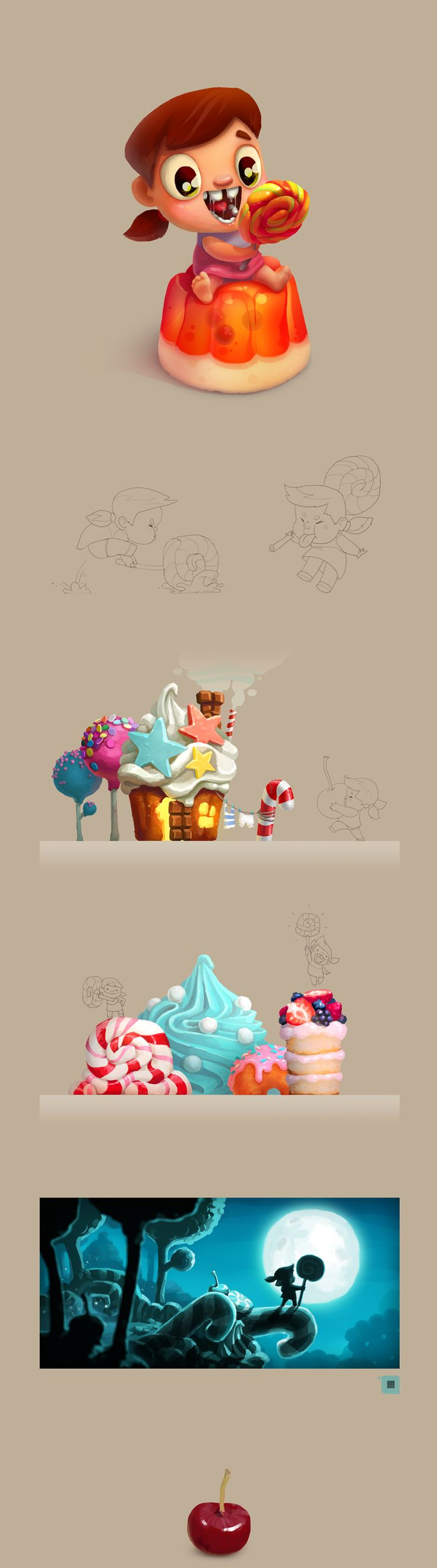 Sweet-tooth on Behance