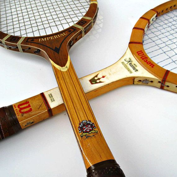 Vintage Wood Tennis Racquets