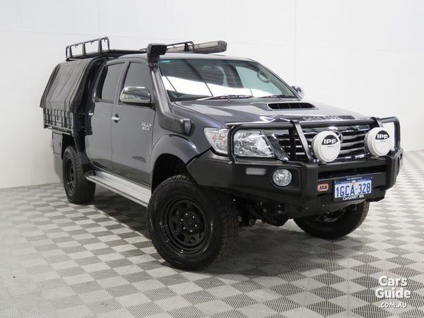 2012 TOYOTA HILUX SR5 (4X4) For Sale $40,991 Manual Ute / Tray | CarsGuide