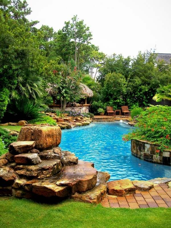 Tropical Pools Have Some Characteristic Elements Which You Should Keep In Mind And Try To Incorporate