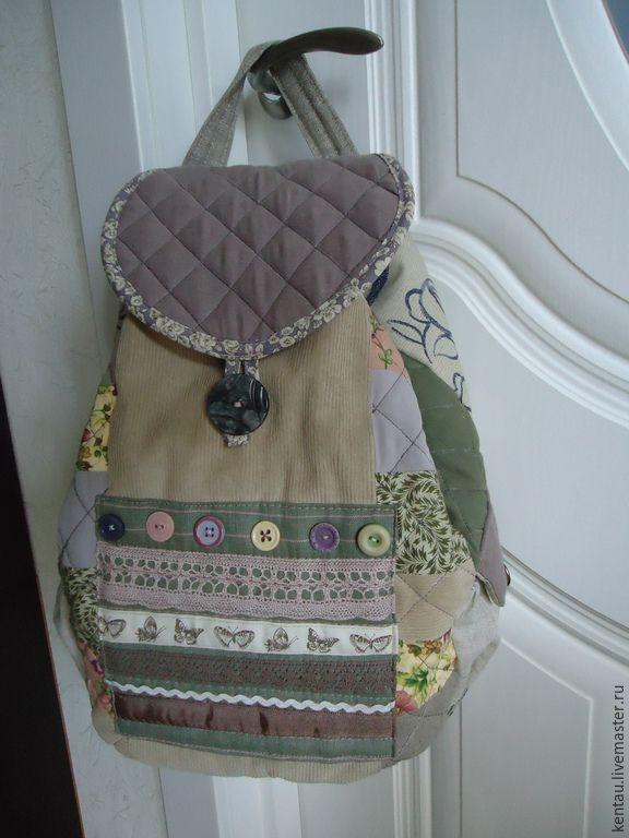 """Купить Рюкзак """"Всё и сразу!"""" - рюкзак, рюкзак женский, рюкзак ручной работы, рюкзак текстильный"""