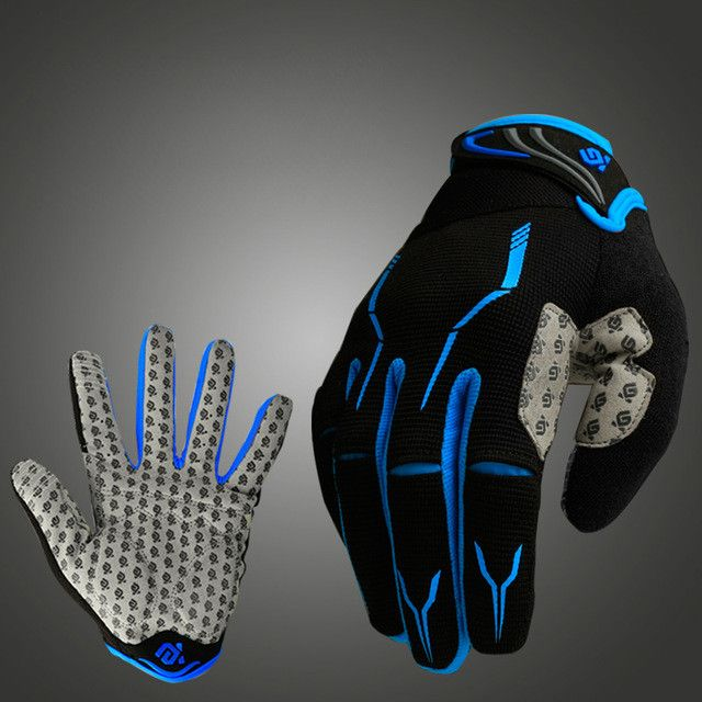 Coolchange Bike Glove Full Finger Black Luva Bike Cycling Gloves Man Women Long Mountain Biking Gloves Motorcycle Gloves