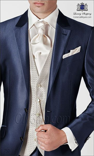 Traje de novio azul 750 ONGala Wedding suit