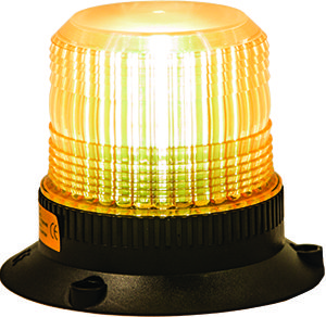 Amber 10 Flash Compact Strobe Light, 12-110V $62.95 - EPRO Industrial Supplies