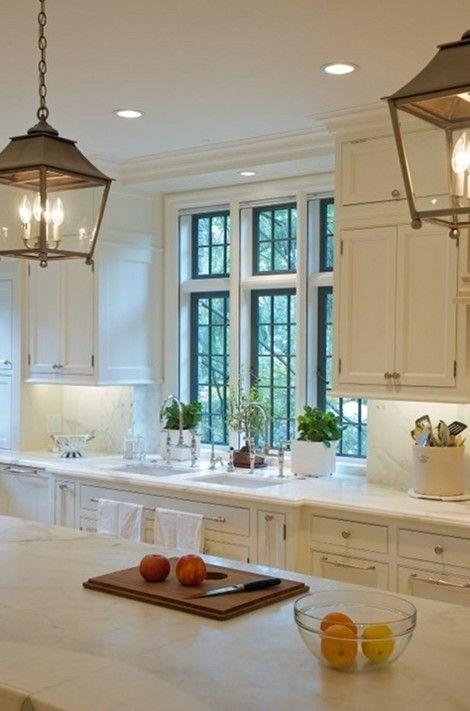 Honed granite or marble