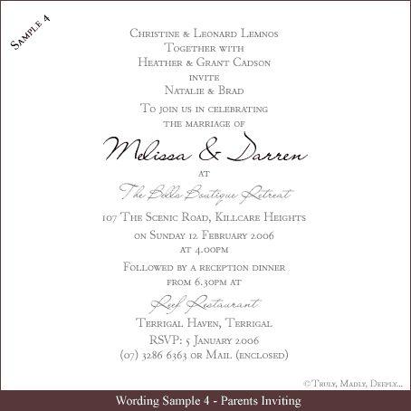 Best 25+ Wedding invitation wording examples ideas on Pinterest