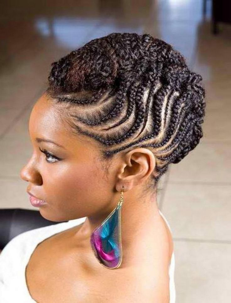 Stupendous 1000 Ideas About African American Braided Hairstyles On Pinterest Hairstyles For Men Maxibearus