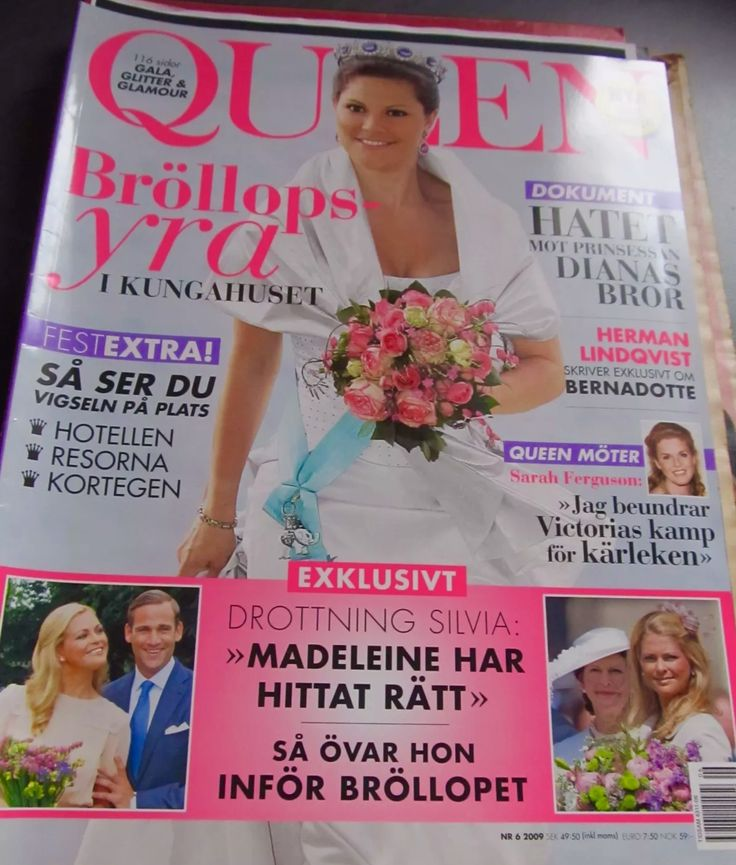 schönes Magazin aus Schweden - Queen  Nr 6 aus 2009