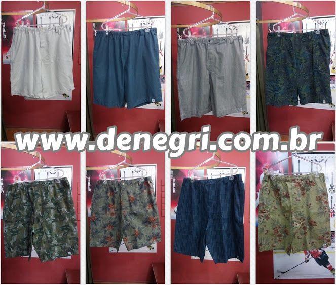 De Negri - A loja virtual para grandes homens que vestem roupas de tamanhos especiais. Coleção de bermudas:  ➜ http://www.denegri.com.br/bermudas   #TamanhosEspeciais #PlusSize #GrandesHomens #ModaMasculina