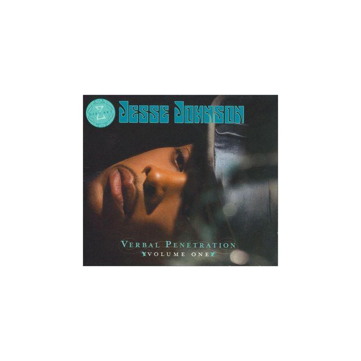Jesse johnson - Verbal penetration (CD)