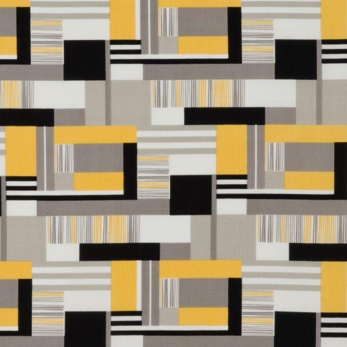 bauhaus kunst 100 bio katoen 110 cm breed medium weight stofje uit de ihaus collectie van cloud9 fabrics geanspireerd op een primair kleurpalet en kunststoffplatten