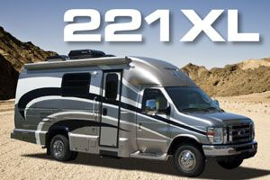 Luxury Small Motorhomes | Fuel Efficient Downsized Class C (Class B-Plus) RVs | Coach House Platinum