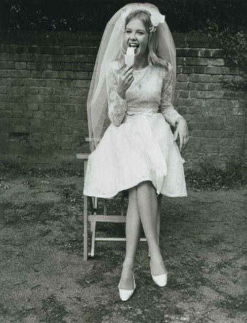 Pre-wedding popsicle, 1960s