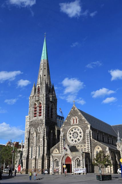 Christchurch Cathedral, Christchurch, New Zealand-pre earthquake 2011