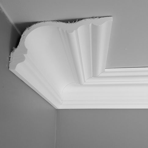 Amazing UK plaster mouldings manufacturer offering nationwide delivery straight to your door Superior coving plaster cornice ceiling roses dado Contemporary - Model Of crown molding joints In 2019