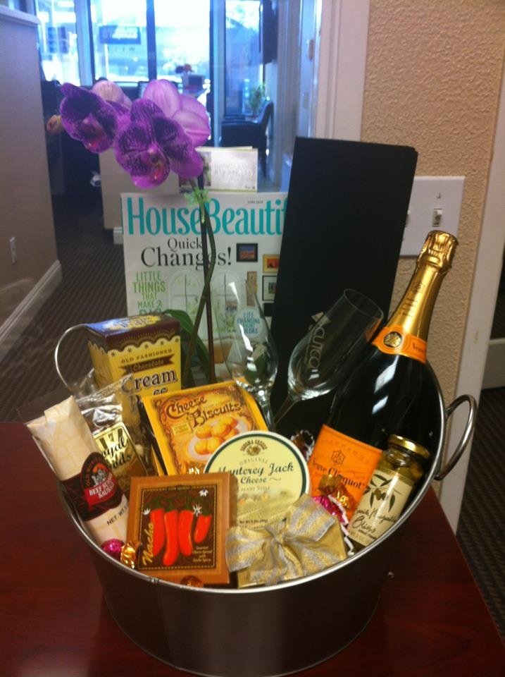 Thank You Basket For My Clients San Diego Real Estate