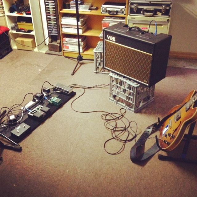 My guitar rig. Future vintage