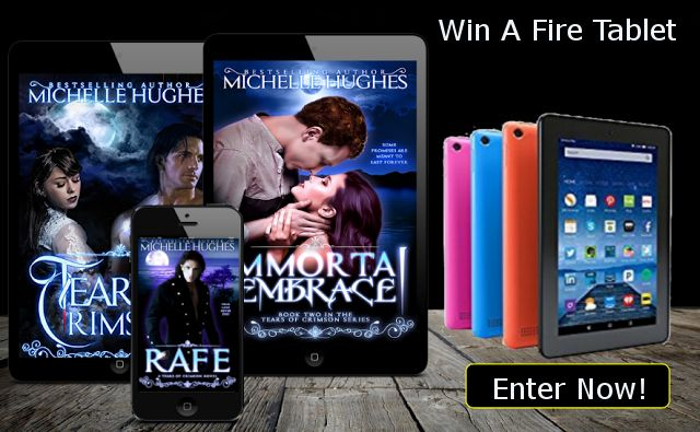 You deserve to win this sexy Kindle Fire Tablet!  Go on and enter!  May the odds... wait... that line's been taken!  Good luck!