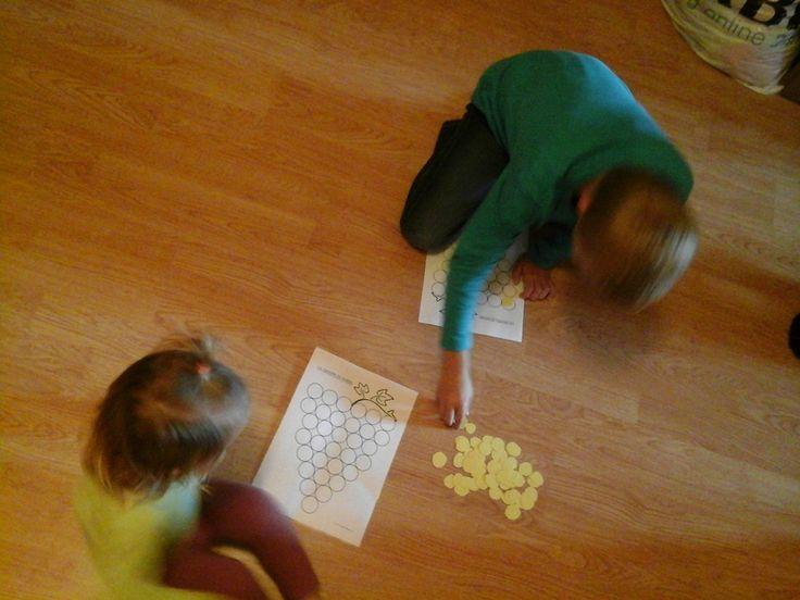 ACTIVITES: jeu du raisin