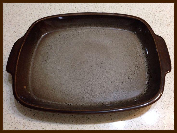 Beautiful Temuka Pottery Baking Dish found in an Op Shop. My favourite