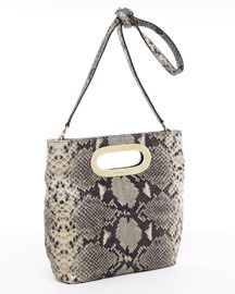 Michael Kors Shoulder Bags - MICHAEL Michael Kors Berkley Medium Messenger, Dark Sand Python - $84.00 - michael kors outlet, burberry handbags, guess handbags