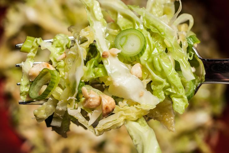 Asian peanut Coleslaw Recipe