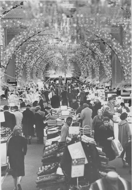 An Old Fashioned Department Store Christmas