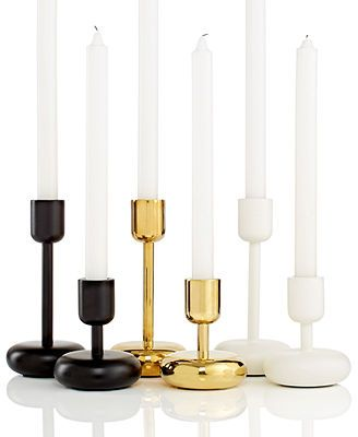 Iittala Lighting, Nappula Candleholder Collection