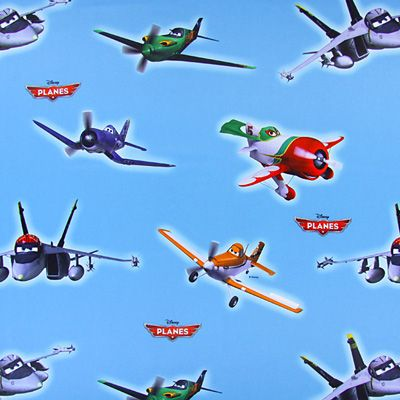 Blackout Disney's Planes 3 - Polyesteri - vaaleansininen