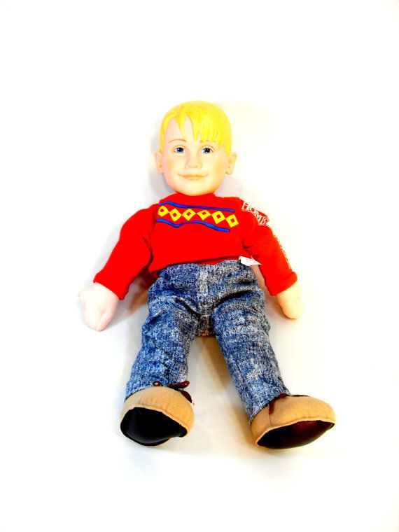 Kevin Home Alone Talking Doll, Pull Sting Talking Doll, Home Alone Doll Kevin, 1990's Retro Toy