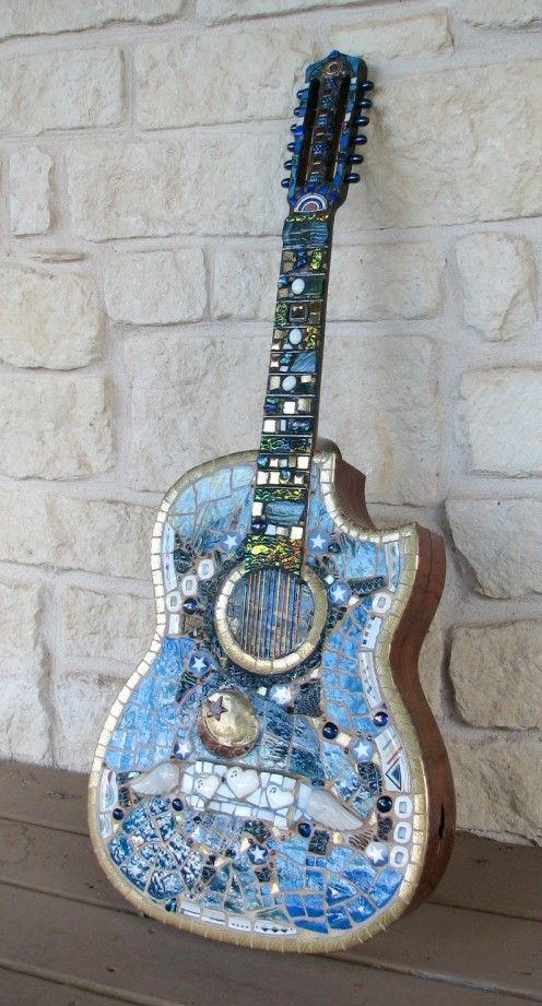 How to Mosaic a Guitar - Rhythm and Blues