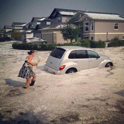 Airdrie Hail Storm Damage Climbs To $25 Million